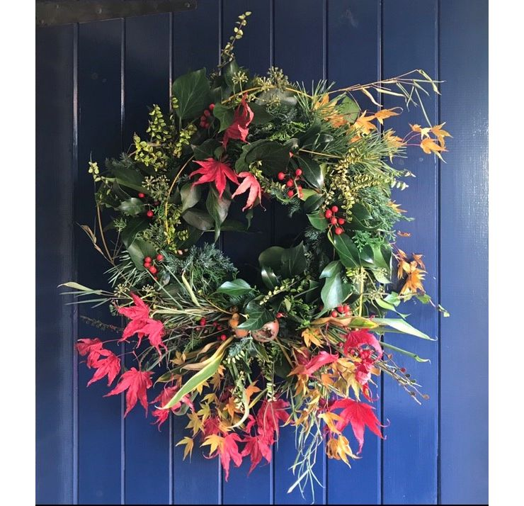 Special event - A foraged seasonal wreath