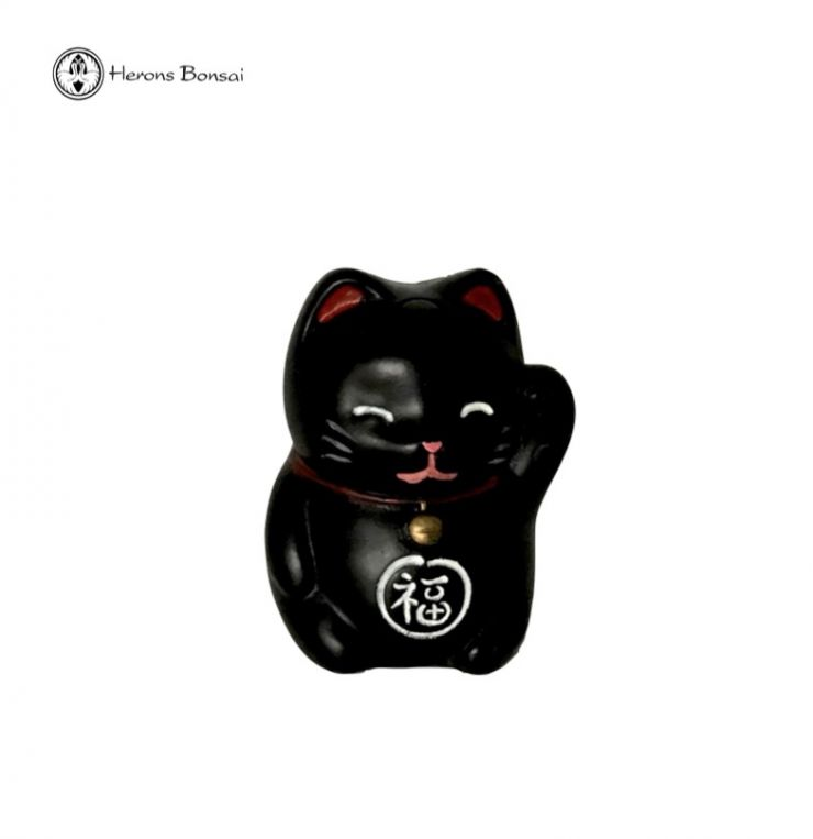 Maneki-neko Lucky Cat | Small | Black
