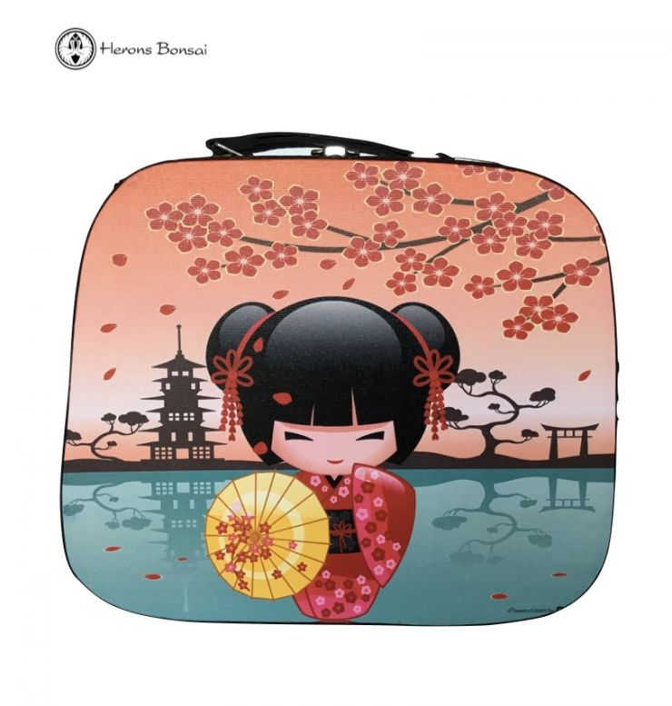 Japanese style Bag/ Case | Red