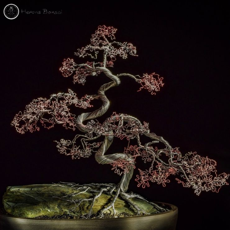 Bonsai Art - Tree made of Wire