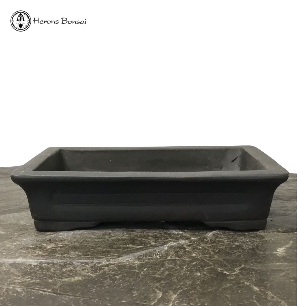 Unglazed Ceramic Bonsai Pot (23cm)