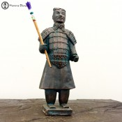 terracotta army | armed warrior