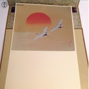 high quality paper hanging scroll.