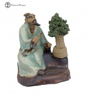 Creativity Figurine with Bonsai Tree | large scissors
