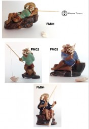 Fisherman Figurine | Ceramic