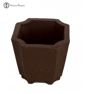 Mame (Miniature) Bonsai Pot (5cm) | Unglazed Octagon