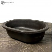 Mica Bonsai Pot | Oval (19cm)