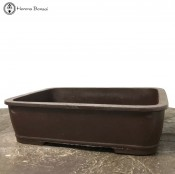 Rectangle Mica Bonsai Pot (32.5cm)