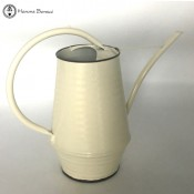 Zinc Coated Cream Watering Can