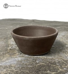 Unglazed Round Bonsai Pot 9cm