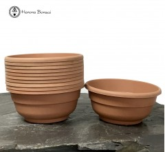 flower pot bundle 10 plastic pots